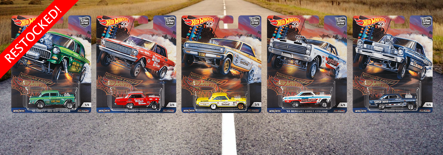 Hot Wheels / Car Culture / Dragstrip Demons