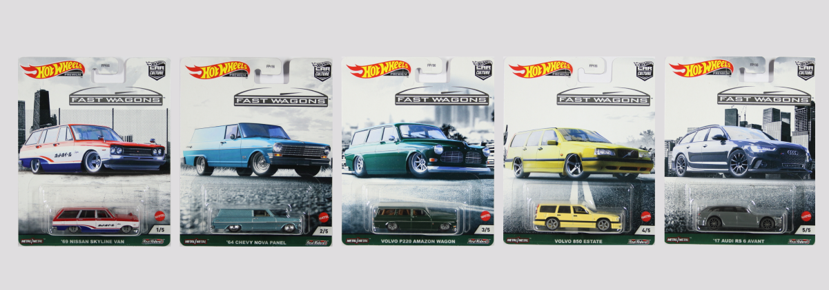 Hot Wheels Car Culture 2021 Release 2 - Fast Wagons