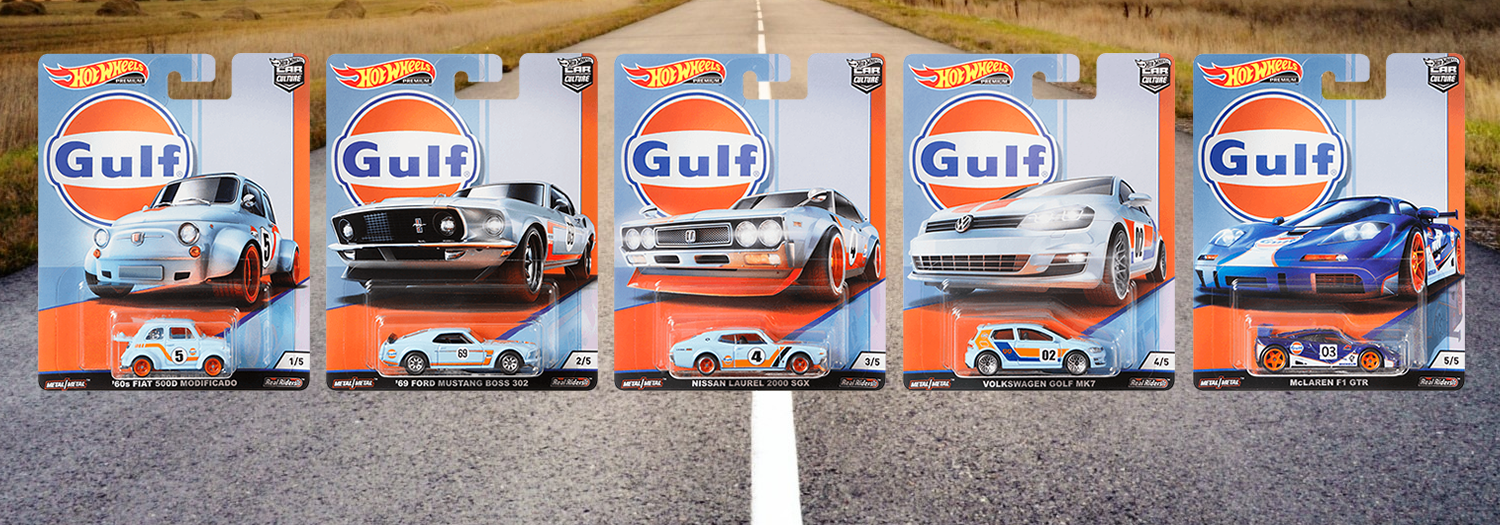 Hot Wheels / Car Culture / Gulf Racing