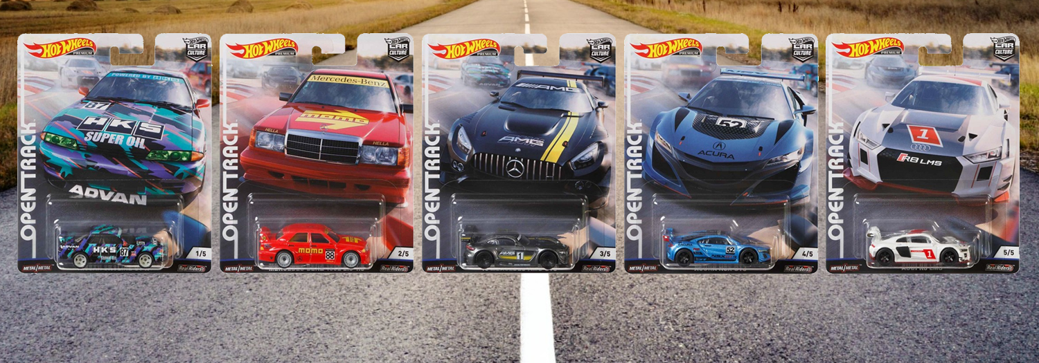 Hot Wheels / Car Culture / Open Track