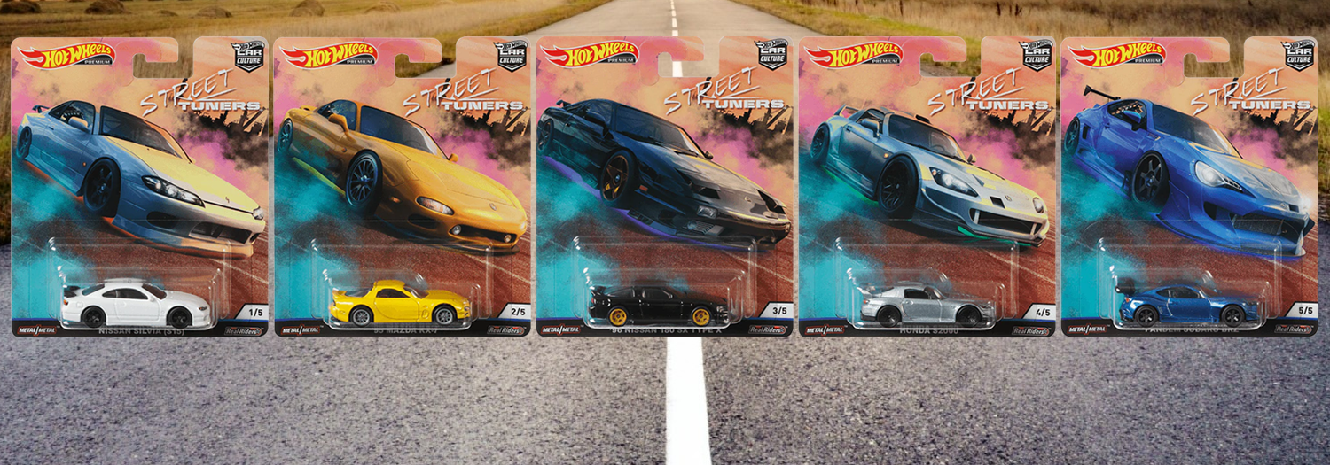 Hot Wheels / Car Culture / Street Tuners