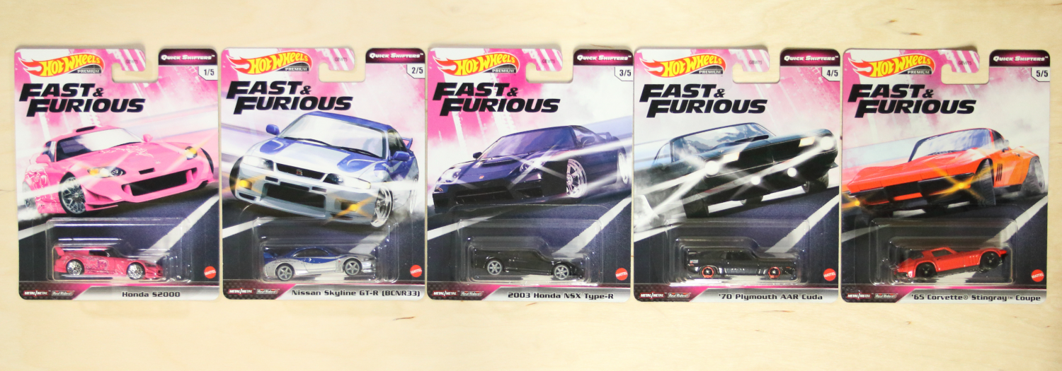 Hot Wheels Fast & Furious Quick Shifters