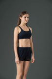 LeReve Paris - Aero See­‐through Sports Bra Navy Blue