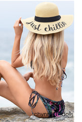 Floppy Hat: - Chynna Dolls Swimwear