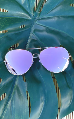 Mirror Aviators - Chynna Dolls Swimwear