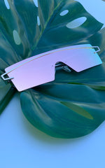 Sunglasses: Retro Modern Futuristic Sunglasses - Chynna Dolls Swimwear