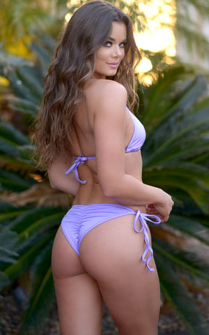 Laguna: String Bathing Suit in Lilac - Chynna Dolls