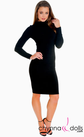 Natalie: Mini Black Dress