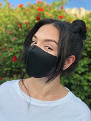 Face Mask: Basic in Black - Chynna Dolls Swimwear