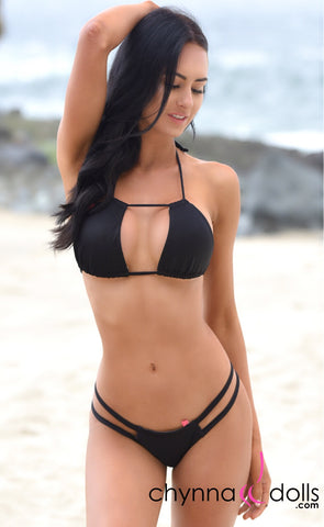 Bronx: Reversible Micro Bikini and Double Tunnel Top in Tiger x Black