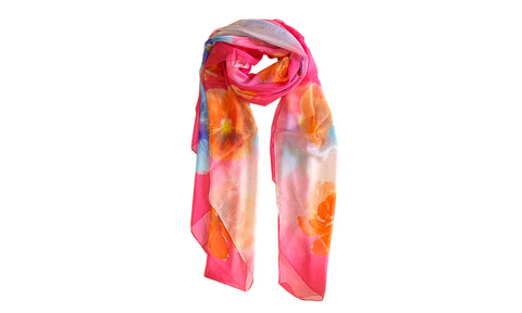 Pastel Orchid Scarves