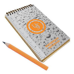 UST waterproof notepad