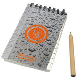 UST waterproof notepad with pencil