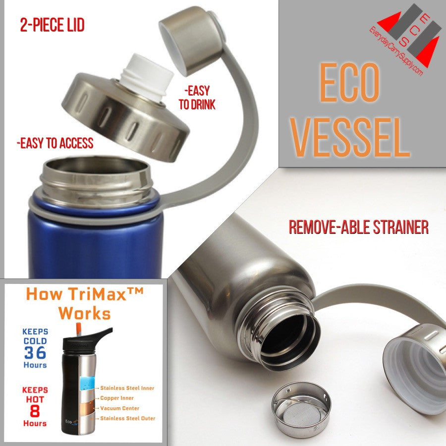 Water Bottles Eco Vessel