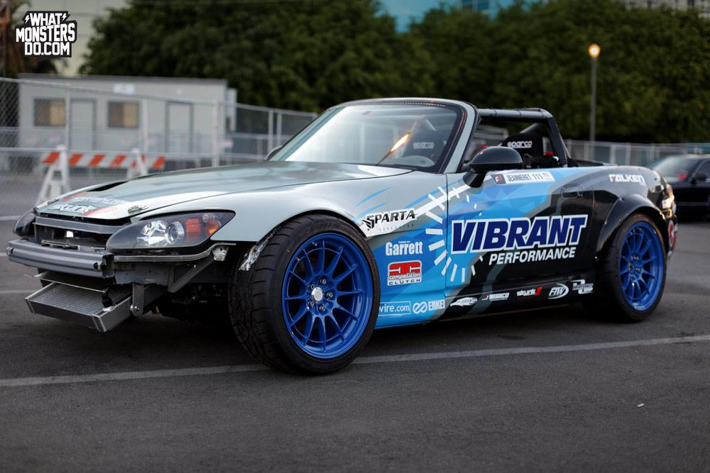 12 Photos of Chris Jeanneret's 1000 Horse Power Formula Drift Honda S2000