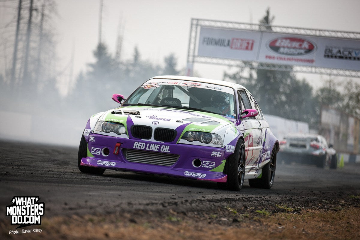 Drift BMW E46 Micheal Essa Red Line Oil Seattle