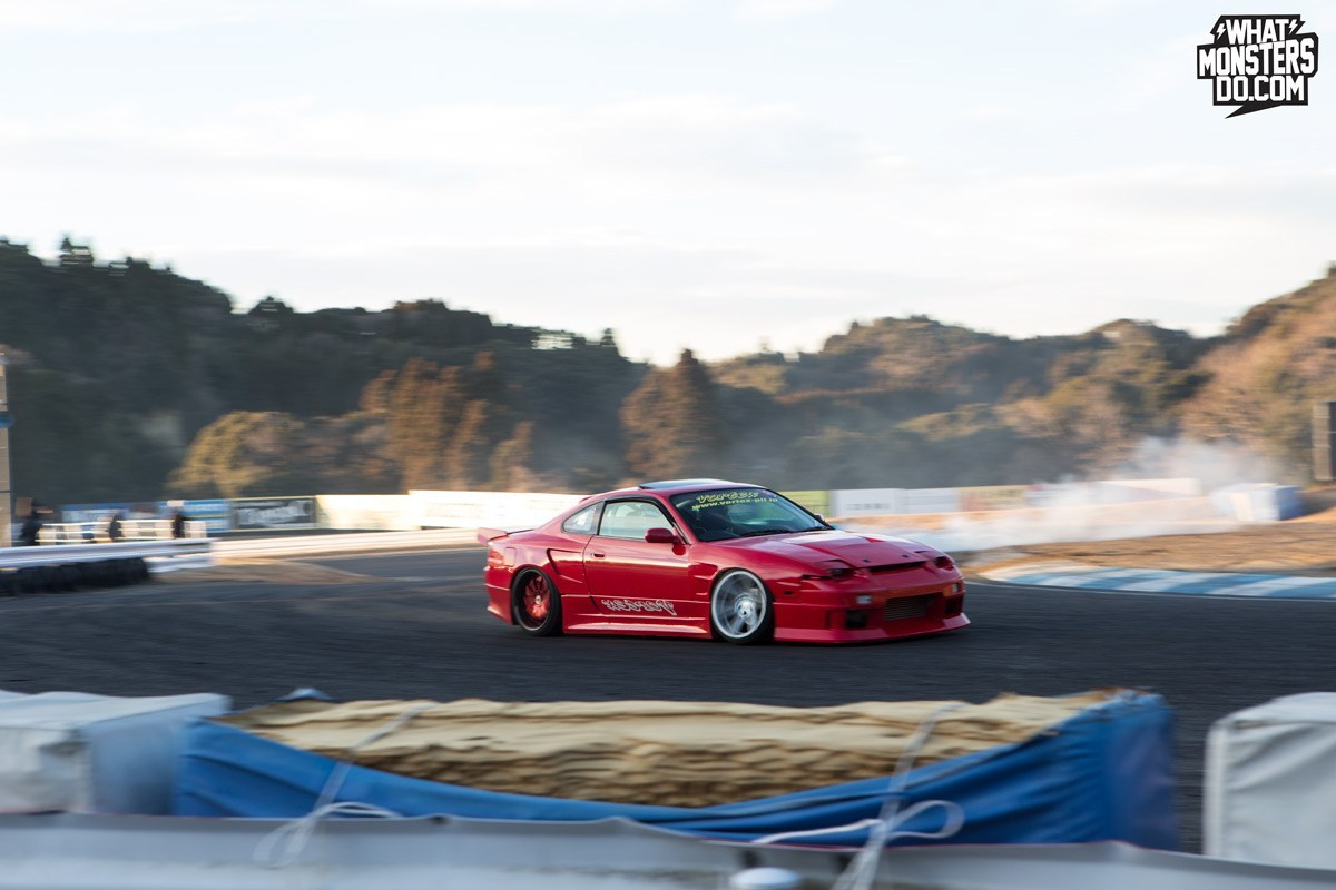 Nissan S15 in Japan Drifting