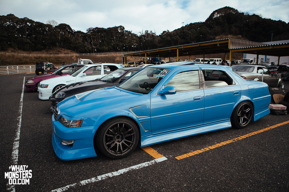 One of my favorite JZX100's at the event. Click here to see a bunch of JZX100's in attendance.