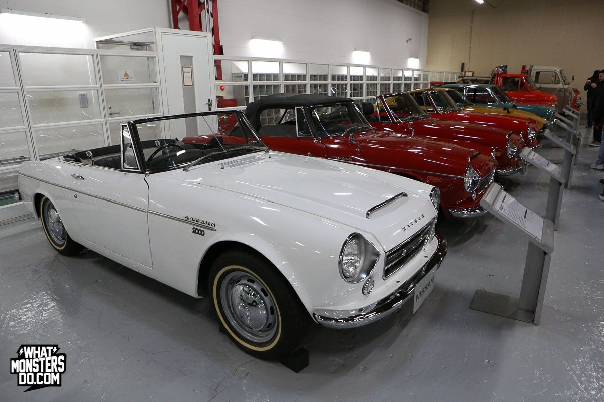 As many of you know, Nissan first came to the US under the brand of Datsun. This is a Datsun Fairlady 2000.