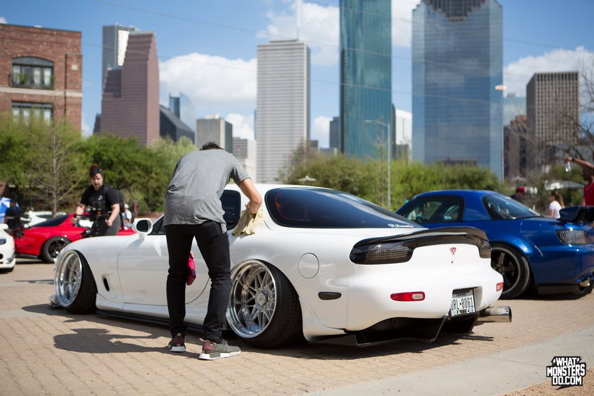 Mazda RX7FD White Houston