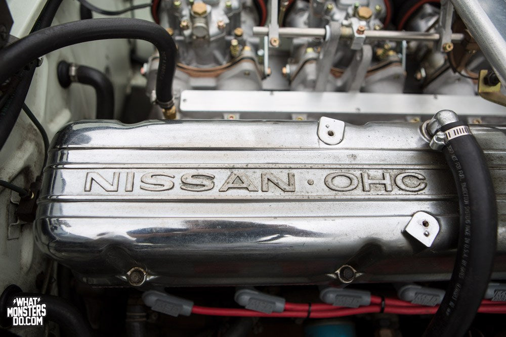 Nissan L28 engine with an OER 45 carb kit