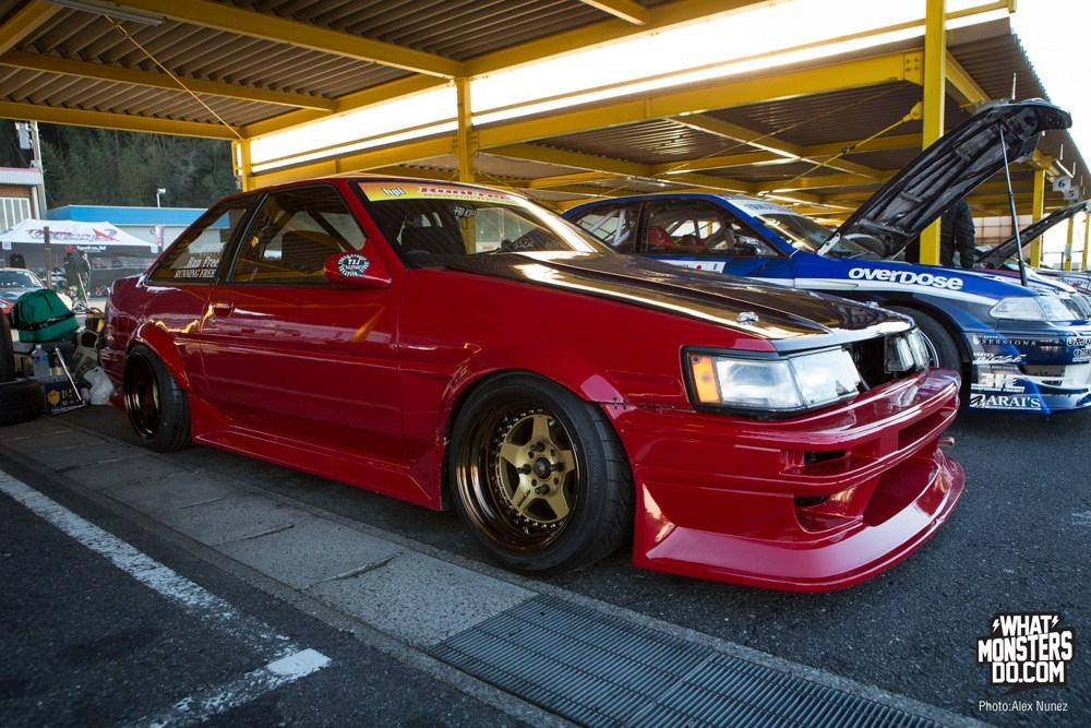 AE86 Work wheels d1 driver Chiba Japan