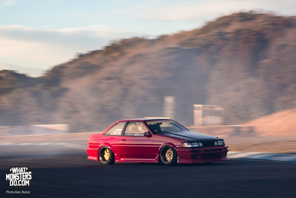 Hachi Roku AR86 Work Wheels drifting in japan