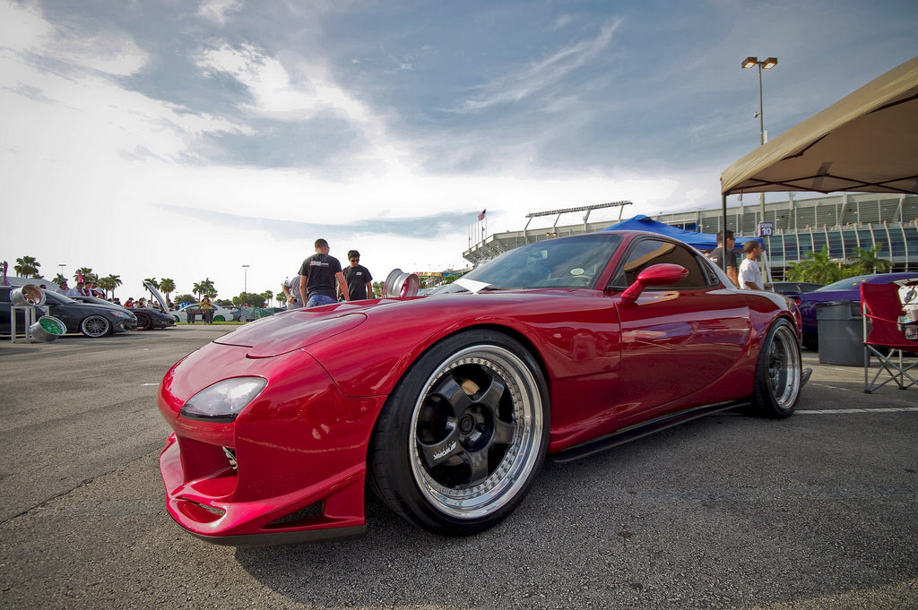 Mazda RX7 FD Red