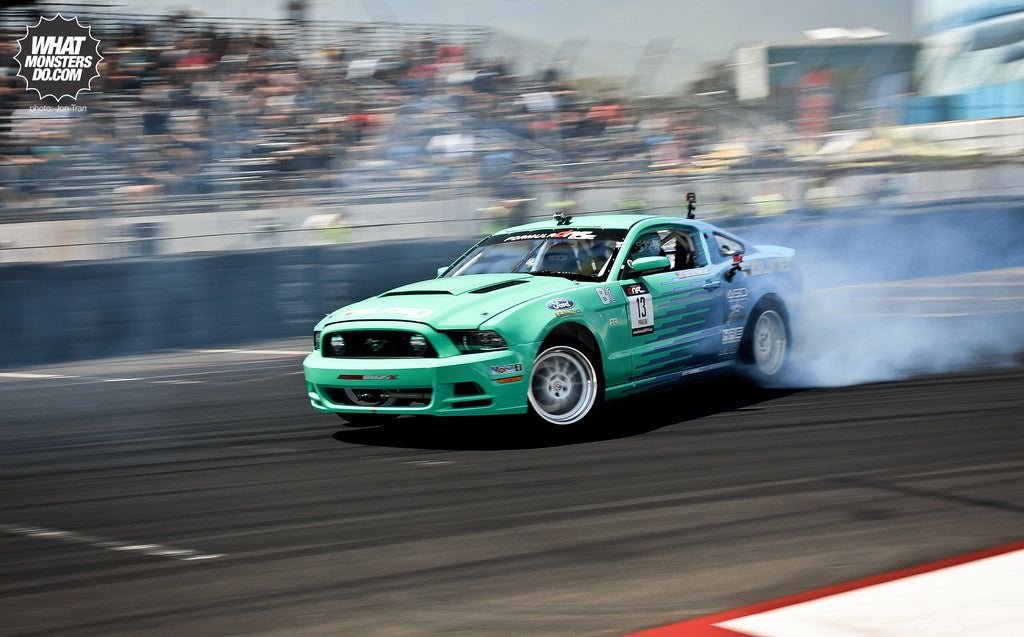 Justin Pawlak Falken Tire Ford Mustang HRE Wheels