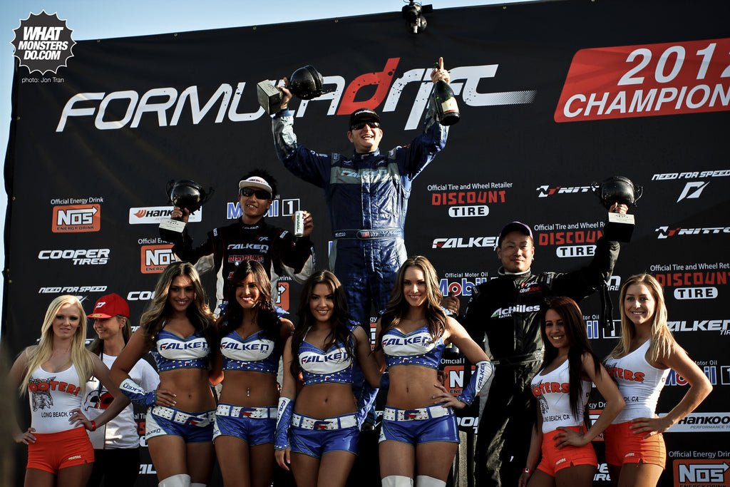 Formula Drift Long Beach 2012 winners