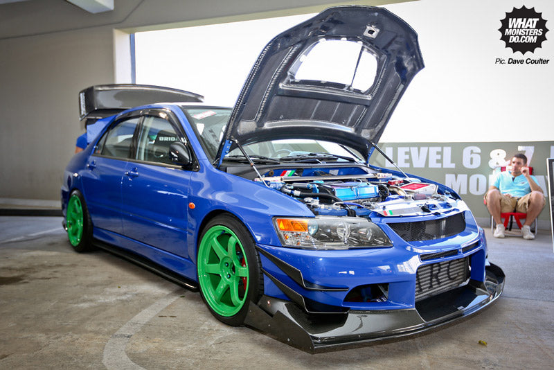 Evo_blue_Wekfest_Hawaii_2013_Dave_Coulter