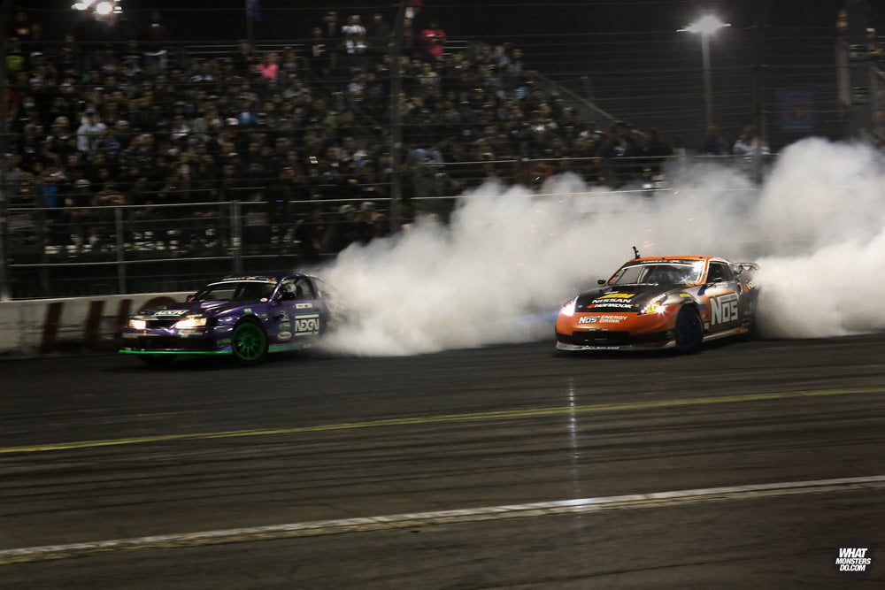 Formula Drift Odi Backhis and Chris Forsberg Irwindale 2013