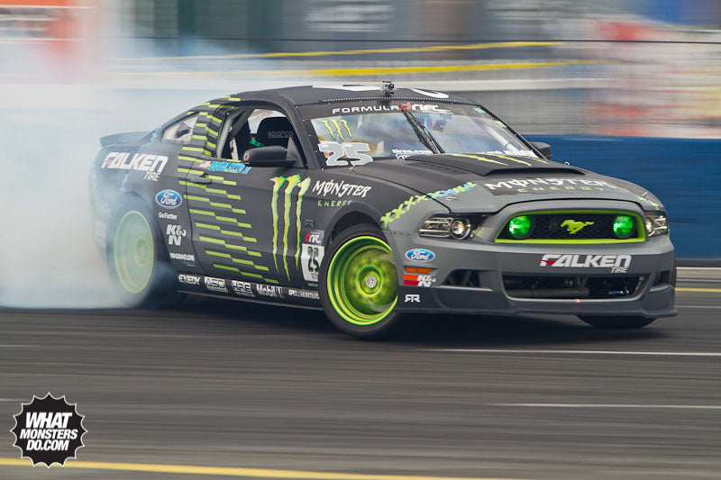 formula drift vaughn gittin jr ford mustang seattle