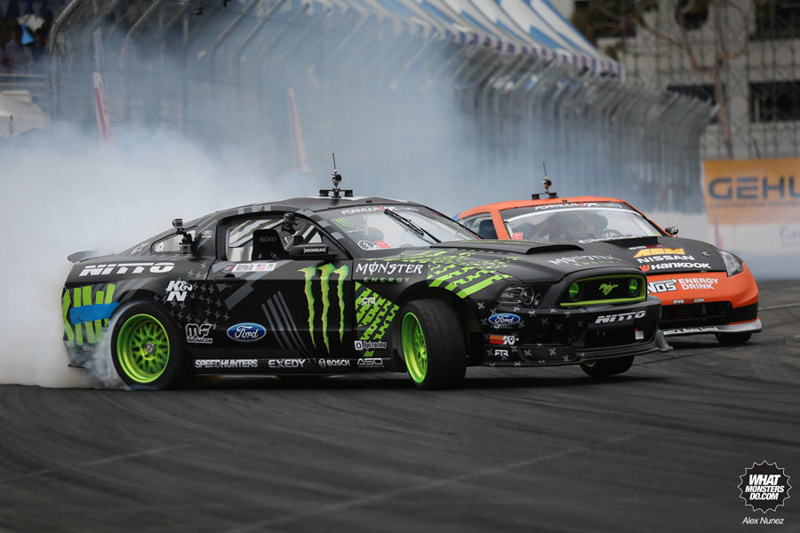 Monster Energy Ford Mustang