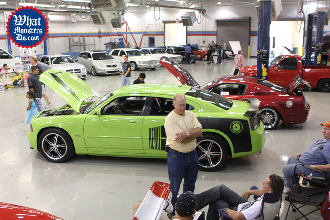 Million dollar car show in grand prairie at Lincoln College of Technology