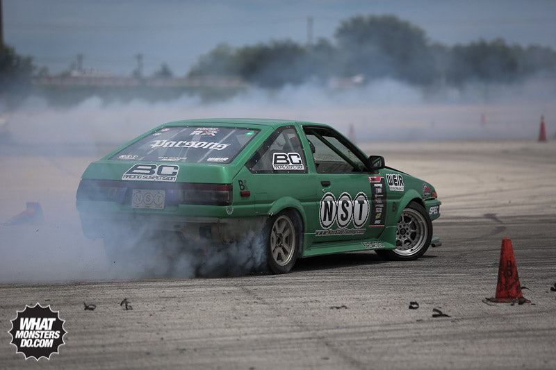 Non Stop Tuning Toyota Drift AE86 in Houston