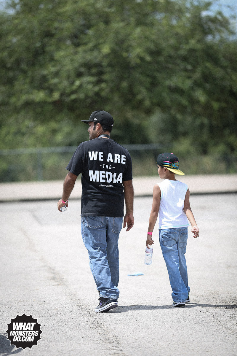WE ARE THE MEDIA WMD SHIRT