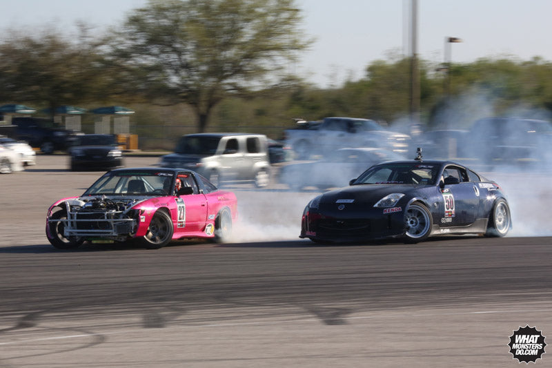 Lone Star Drift in Houston Texas at Greyhound Park