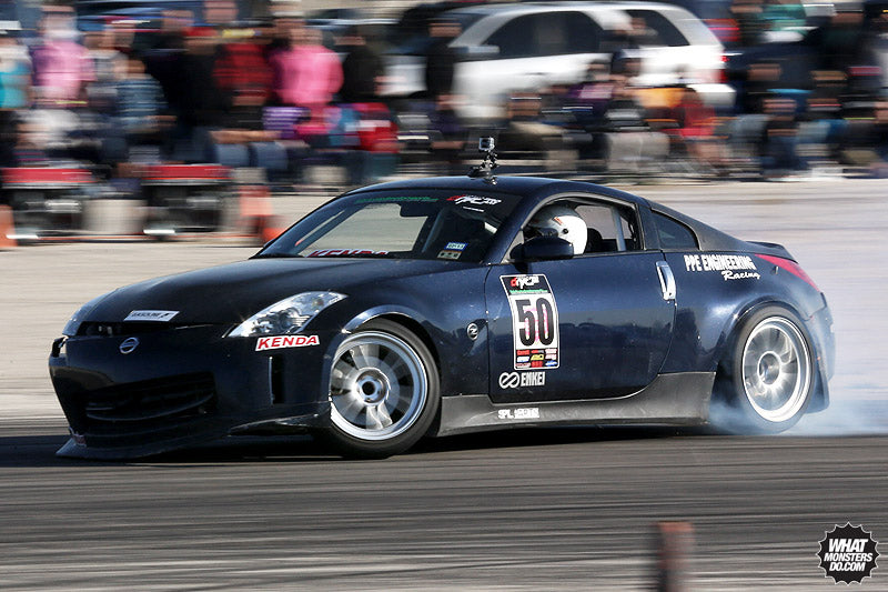 Nissan 350z at Lone Star Drift Houston Texas