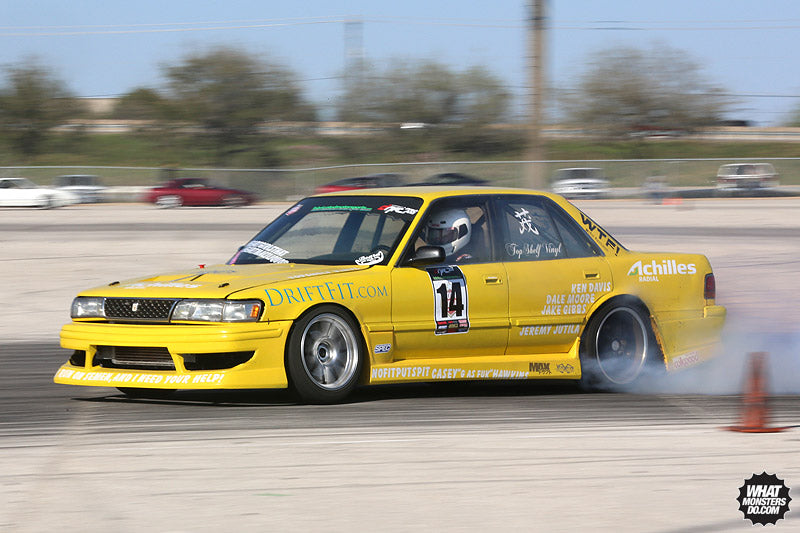 Yellow Cressida at Lone Star Drift Houston Texas