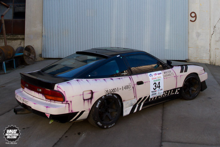 Nissan 180sx Drift Car Mandi Macleod