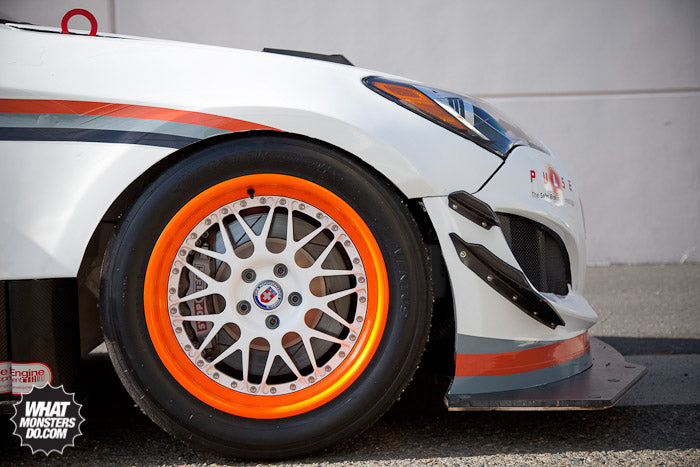 HRE Wheels on Rhys Millen's Hyundai Genesis Coupe Pikes Peak