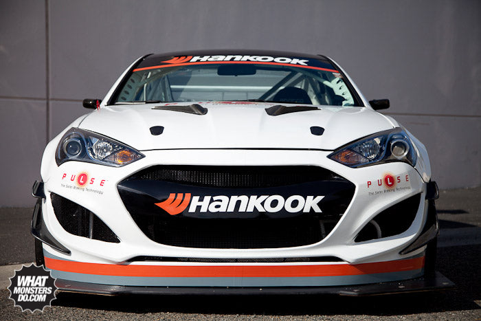 Hankook Tires Pikes Peak Challenge HRE Wheels