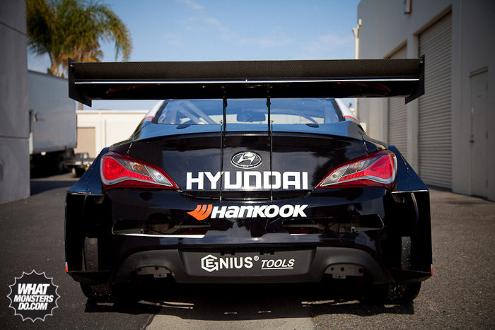 Hyundai Genesis Coupe Drift car turned Pikes Peak