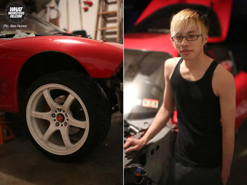 Robby-rx7-fd-red
