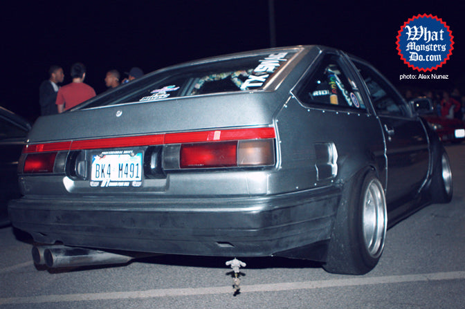 1985 Toyota Corolla GT AE86 with dope stance