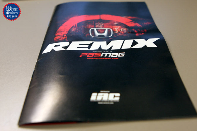 remix honda insert in performance auto and sound magazine with Enkei wheels