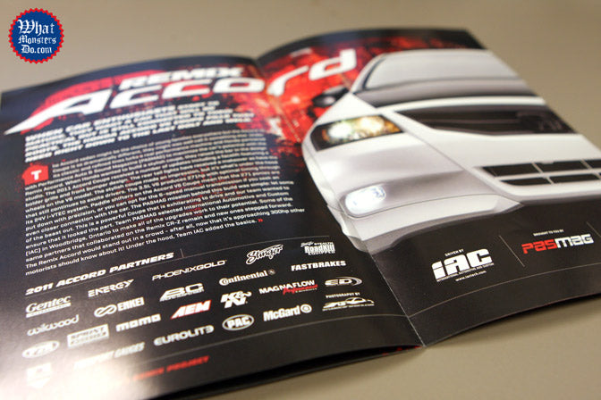 remix honda accord insert in performance auto and sound magazine with Enkei wheels