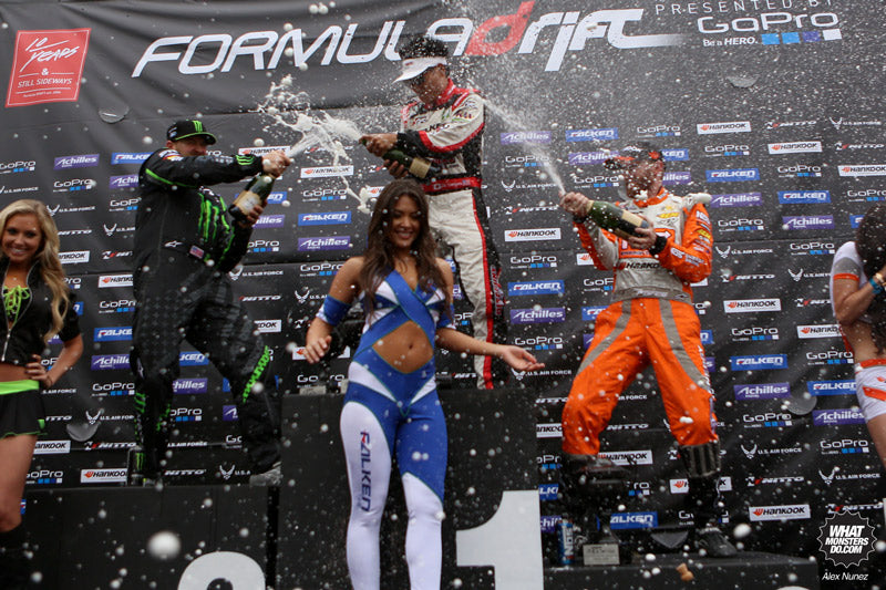 Formula Drift Round One winners 2013