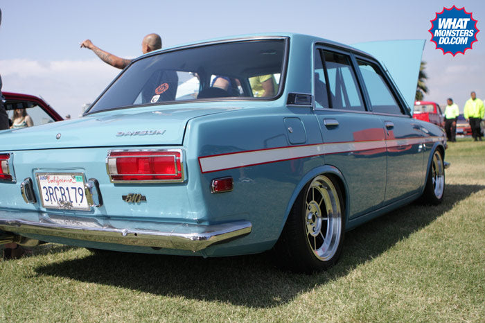 datsun 510 at japanese classic car show